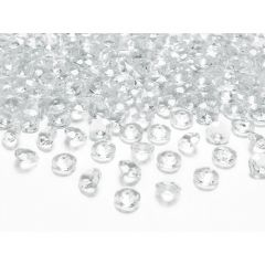 Cristale diamant, Transparent, 100 buc