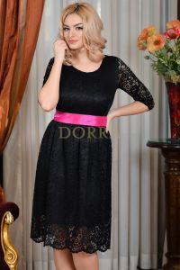 Rochie Rafaela - dantela neagra