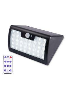 Lampa solara de perete puternica cu telecomanda, senzor de miscare si lumina cu 40 leduri 900LM