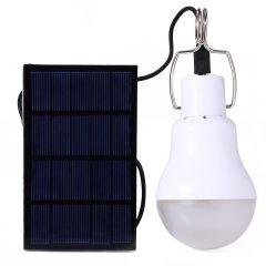 Bec 20W cu 33 leduri portabil cu panou solar prevazut cu mufa USB pentru incarcarea de urgenta a telefonului