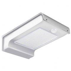 Lampa solara de perete cu senzor de miscare si lumina cu 72 leduri