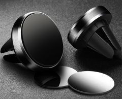 Suport auto universal magnetic de telefon pentru ventilatie