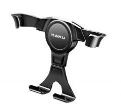 Suport auto telefon iKAKU, universal, pentru ventilatie, rotire 360 grade, negru