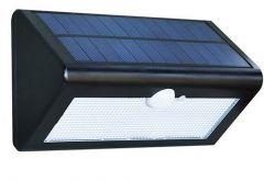 Lampa solara de perete cu senzor de miscare si lumina cu 38 leduri