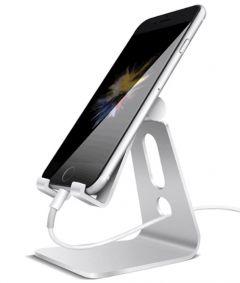 Suport reglabil universal de birou, pentru telefon sau tableta, din aluminiu