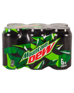 Bautura racoritoare carbogazoasa Mountain Dew Citrus 6x0.33L