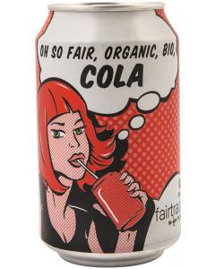 Bautura racoritoare carbogazoasa Cola Bio Oxfam 0.33L
