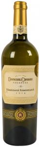 Vin alb sec 13% alcool Tamaioasa Romaneasca Domeniul Coroanei Segarcea 0.75l