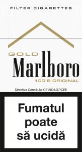 Tigari Marlboro 100's Gold Original
