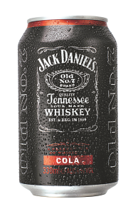 Mix de Whisky si Cola Jack Daniel's 0.33L