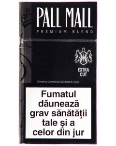 Tigari Pall Mall negru premium blend extra cut