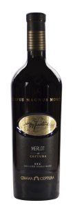 Vin rosu sec Crama Ceptura Merlot 0.75L