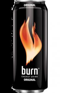 Bautura energizanta carbogazoasa Burn Original 0.5L