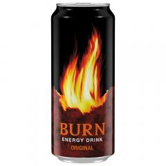 Bautura energizanta doza Burn Original 0.5l