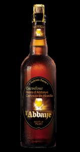 Bere de Abatie 6.5%alcool Carrefour 0.75l