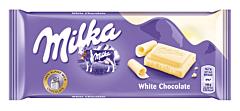 Ciocolata alba Milka 100g