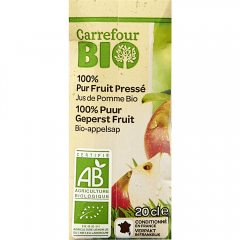 Suc de mere 100%natural Carrefour Bio 0.2l