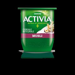 Iaurt cu musli din cereale integrale Activia 3.1% grasime 125g