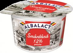 Smantana 12% grasime Albalact 200g