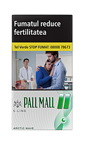 Tigari Pall Mall menthol superslims