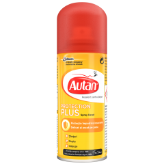 Spray protectie capuse, tantari si muste Autan 100ml