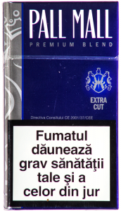 Tigari Pall Mall albastru premium blend extra cut