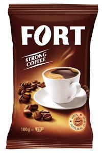Cafea prajita si macinata Fort 100g