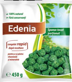 Spanac tocat portii congelat 450g Edenia