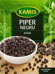 Piper negru boabe Kamis 20g