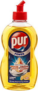 Detergent vase Pur Duo power lemon extra 0.45L