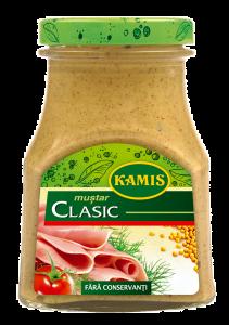 Mustar clasic Kamis 185g
