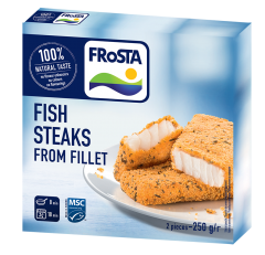 Fish steak Frosta 250g