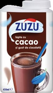 Lapte cu cacao si gust de ciocolata Zuzu 450ml