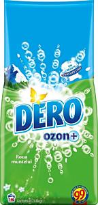 Detergent automat pudra Dero Ozon+ Roua Muntelui, 140 spalari, 14 kg