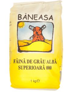 Faina alba de grau 000 Baneasa 1kg