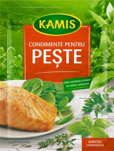 Condimente pentru peste Kamis 25g