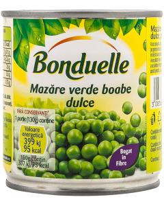 Mazare verde boabe dulce Bonduelle 200g