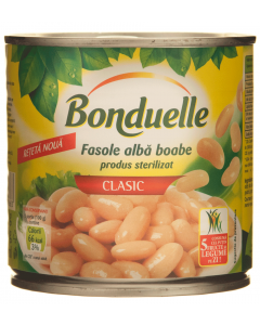 Fasole boabe alba Bonduelle 400g