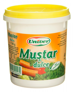 Mustar dulce Univer 190g