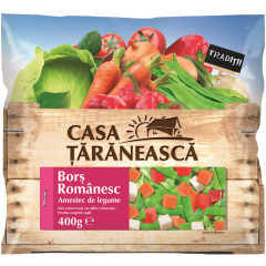 Amestec de legume congelate pentru bors romanesc Casa Taraneasca 400g