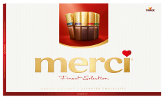 Ciocolata asortata Merci Finest Selection 400g