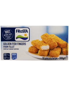 Golden Fish Steaks Frosta 300g