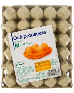 Oua Carrefour 30buc