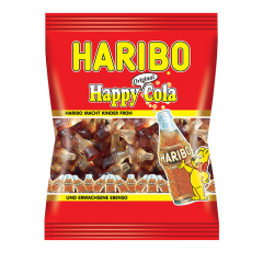 Jeleuri gumate cu gust de cola Haribo 100g