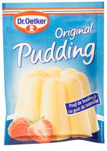 Praf de budinca cu gust de vanilie Dr.Oetker Original Pudding 40g