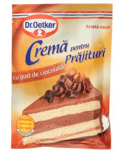 Praf de crema pentru prajituri cu gust de ciocolata Dr.Oetker 55g
