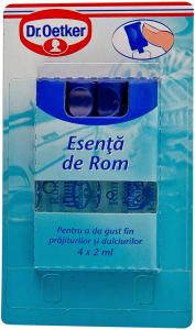 Esenta de rom Dr. Oetker 4 x 2 ml