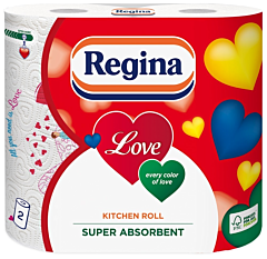 Prosoape de bucatarie Regina, 3 straturi, 2 role