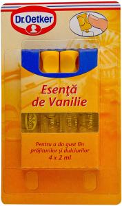 Esenta de vanilie Dr. Oetker 4 x 2 ml