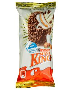 Desert cu nuci si caramel Maxi King Kinder 35g